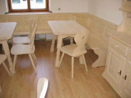 Frühstücksraum für Gästehaus