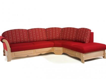 Couchgarnitur STARNBERG mit Trapezecke. Ausführung mit Spitzecke auch möglich
