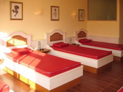 Hoteleinrichtung im Wellnessbereich