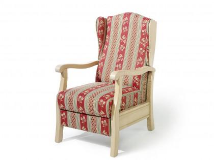 TV-Sessel Bad Wiessee Gestell in Fichte massiv, gebeizt und gewachst.