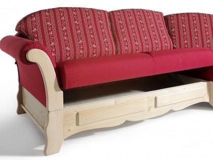 Stauraum bei der Couchgarnitur STARNBERG im Sitzkasten Standardmäßig!