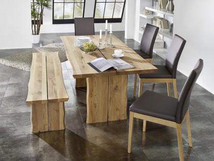 Tischgruppe OVIEDO mit Vorbank