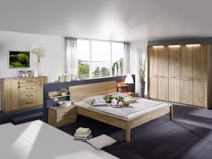 Schlafzimmer LEONARDO in Wildeiche lackiert