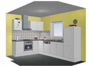 Digitale Küchenplanung – Frontansicht