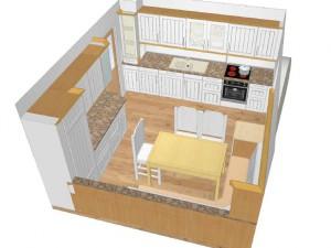 Digitale Planung – Küche mit Eckbankgruppe