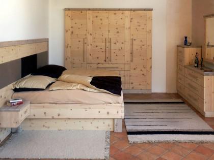 Schlafzimmer NOCKBERGE aus Zirbenholz