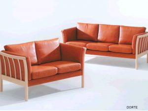 Angebot Juli: Sofagarnitur Modell DORTE zum Angebotspreis von € 1.948.-